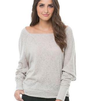 beautiful girl wearing gray sleeve